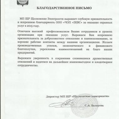 """МП OH """"Щелковские электросети"""""""
