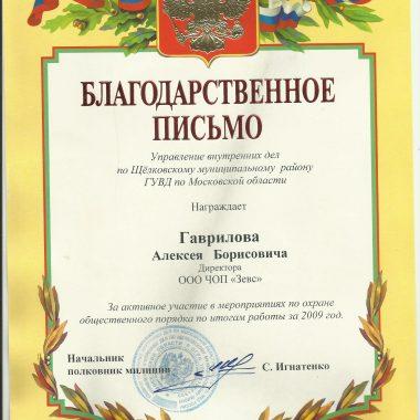 УВД по Щелковскому району